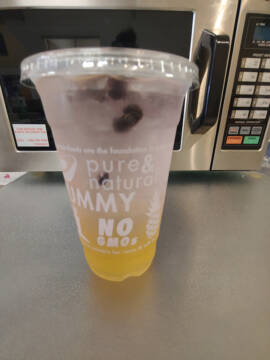#2 Iced Green Tea with Citrus an Blueberries